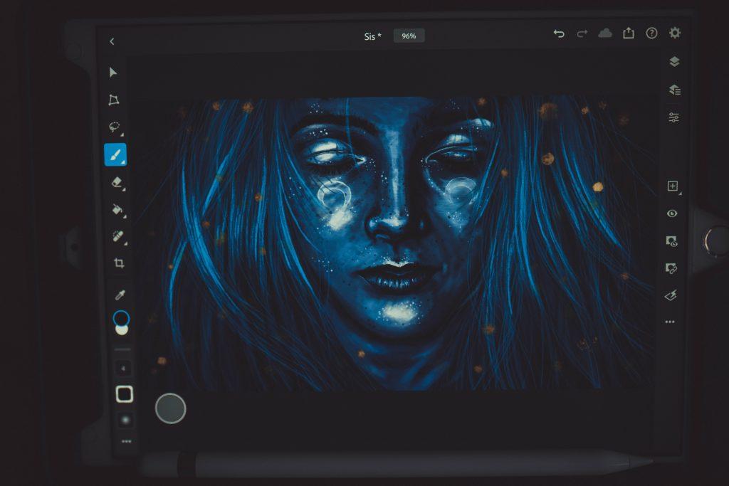Zeichnen mit dem Ipad