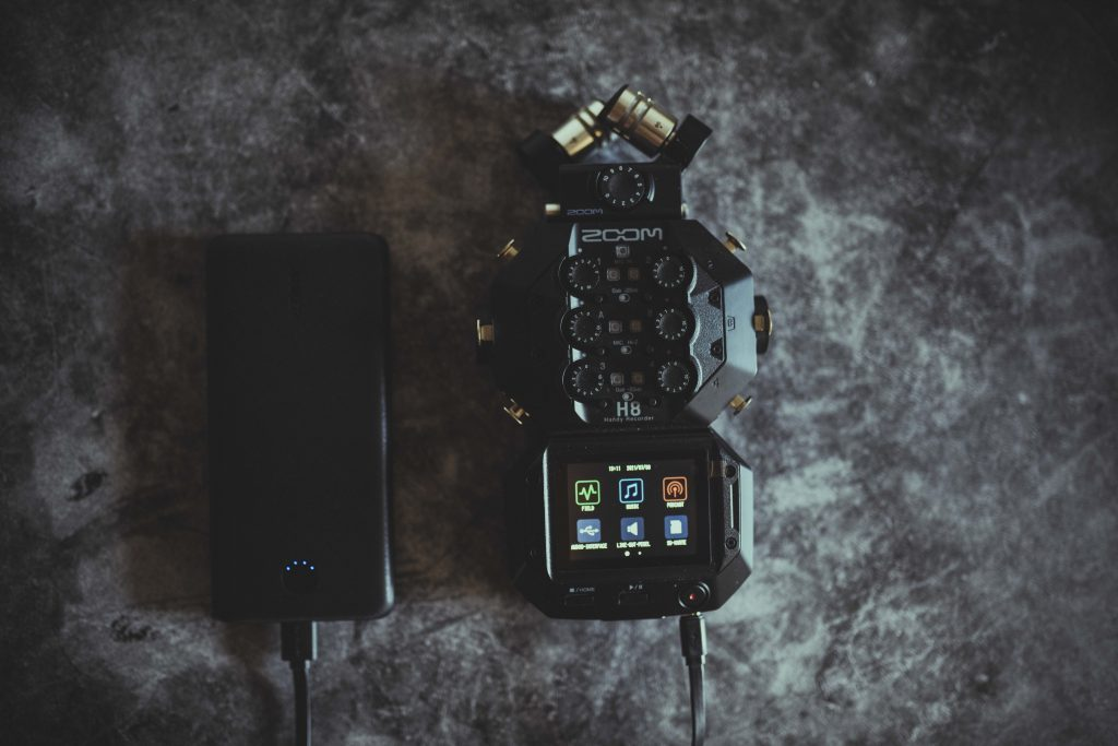 h8 von Zoom Feldrekorder, Handy Rekorder, aufnahmegerät