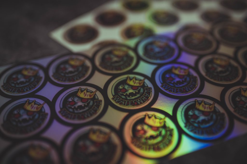 weezy sticker hologramm holo
